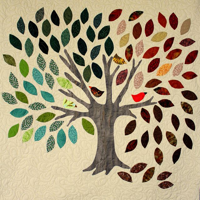 Family Trees, Tree Quilt And Walls