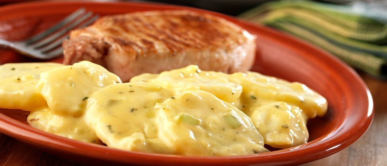 Basil Skillet Potatoes Recipe Skillet Potatoes Campbells Soup Recipes Cooking Recipes