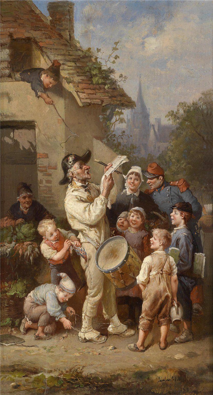 François-Louis Lanfant de Metz (Sierch 1814-1892 Le Havre) The ...