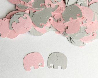 gray baby showers elefante beb ducha chevron y lunares paquete de por oandd