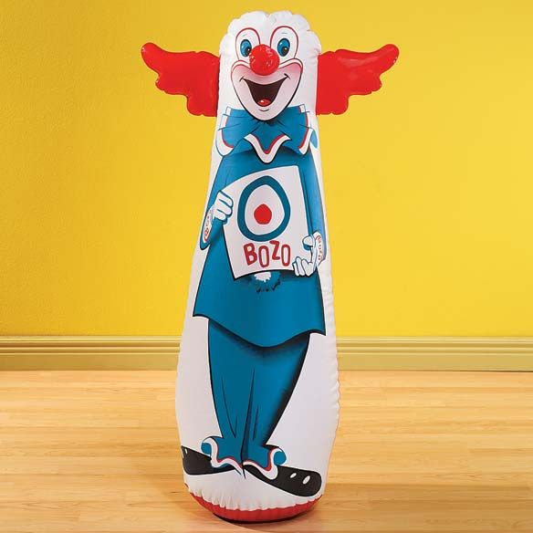 Our Clown Bop Bag From The 1960s Gets Today S Kids Off Couch And Into