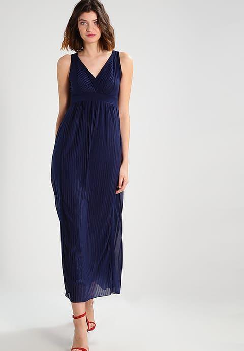 Robe longue bleu marine zalando