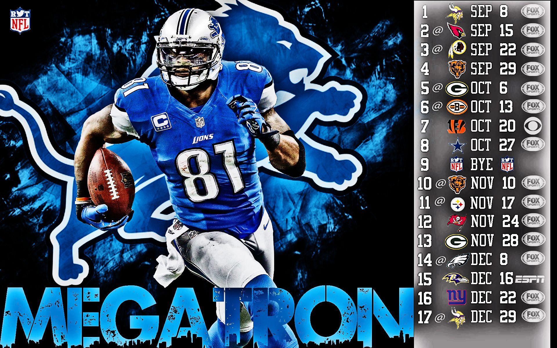 Calvin Johnson Wallpaper Detroit Lions Wallpapersafari Detroit Lions Wallpaper Detroit Lions Nfl Football Wallpaper