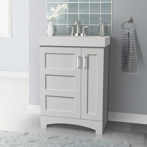 Magick Woods 24 W X 14 1 8 D White Targa Vanity And White Vanity