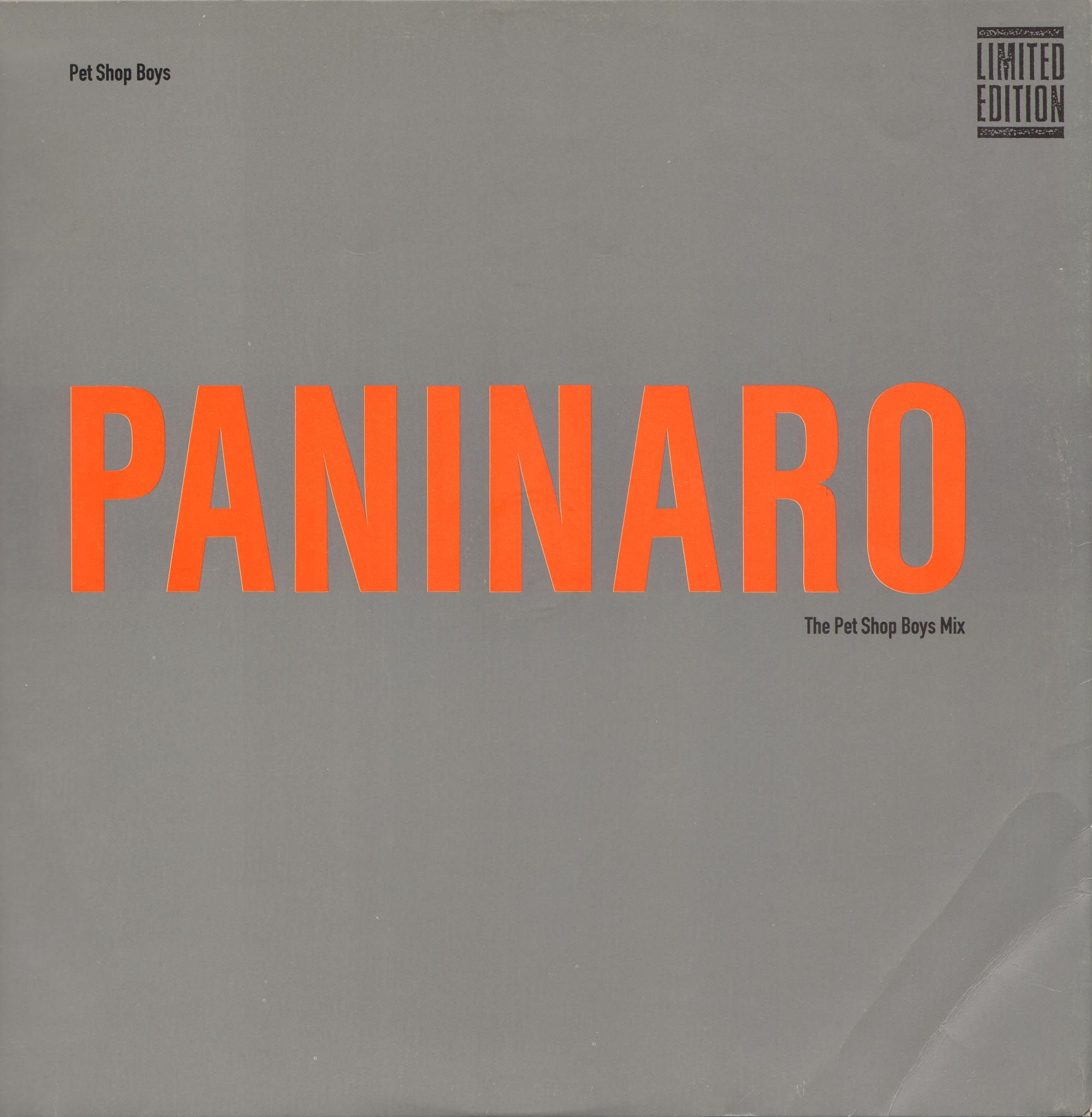 Paninaro Pet Shop Boys Pet Shop Boys Pet Shop Pets
