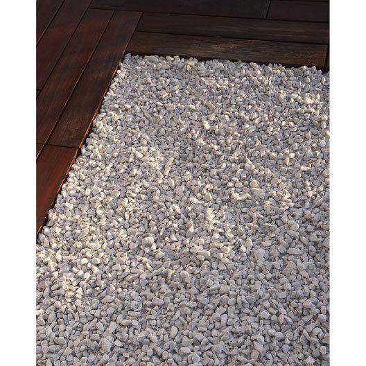 Graviers En Marbre Concasse Blanc 8 16 Mm 1 T Naterial Gravier Marbre Et Terrasse Gravier