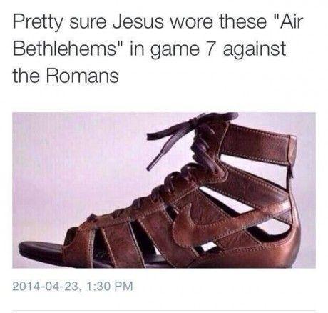 01b5d2a0dcc4 Nike Jesus Sandals