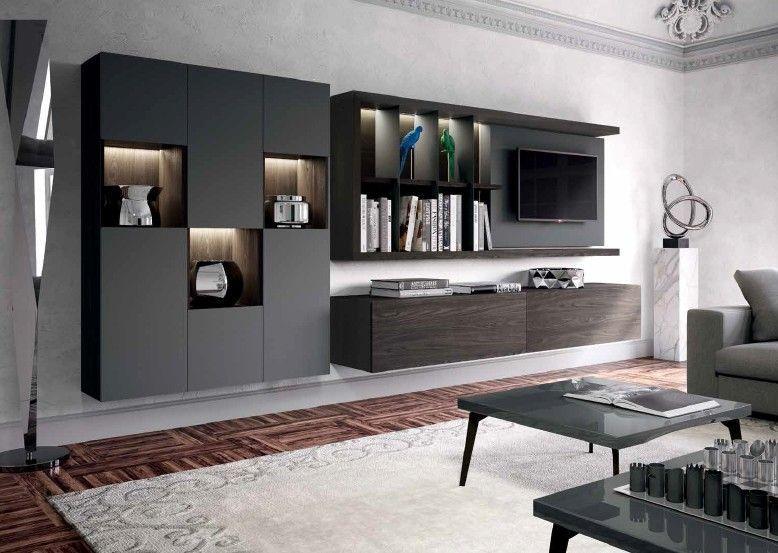 Composizioni Soggiorno Design ~ Composizione 503 skyline 2.0 moderno soggiorno projektowanie