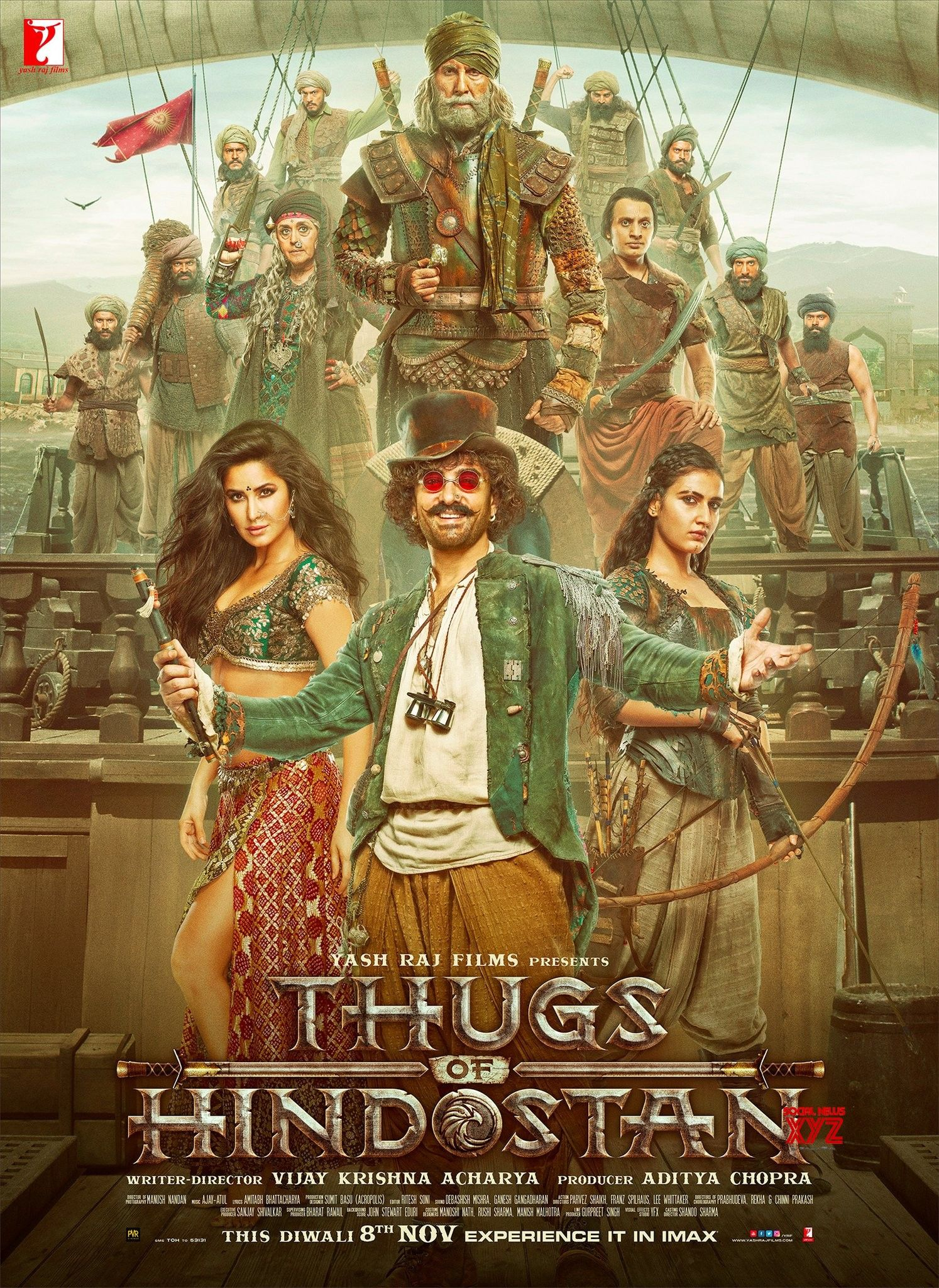 Thugs Of Hindostan Movie Latest HD Poster | Amitabh bachchan