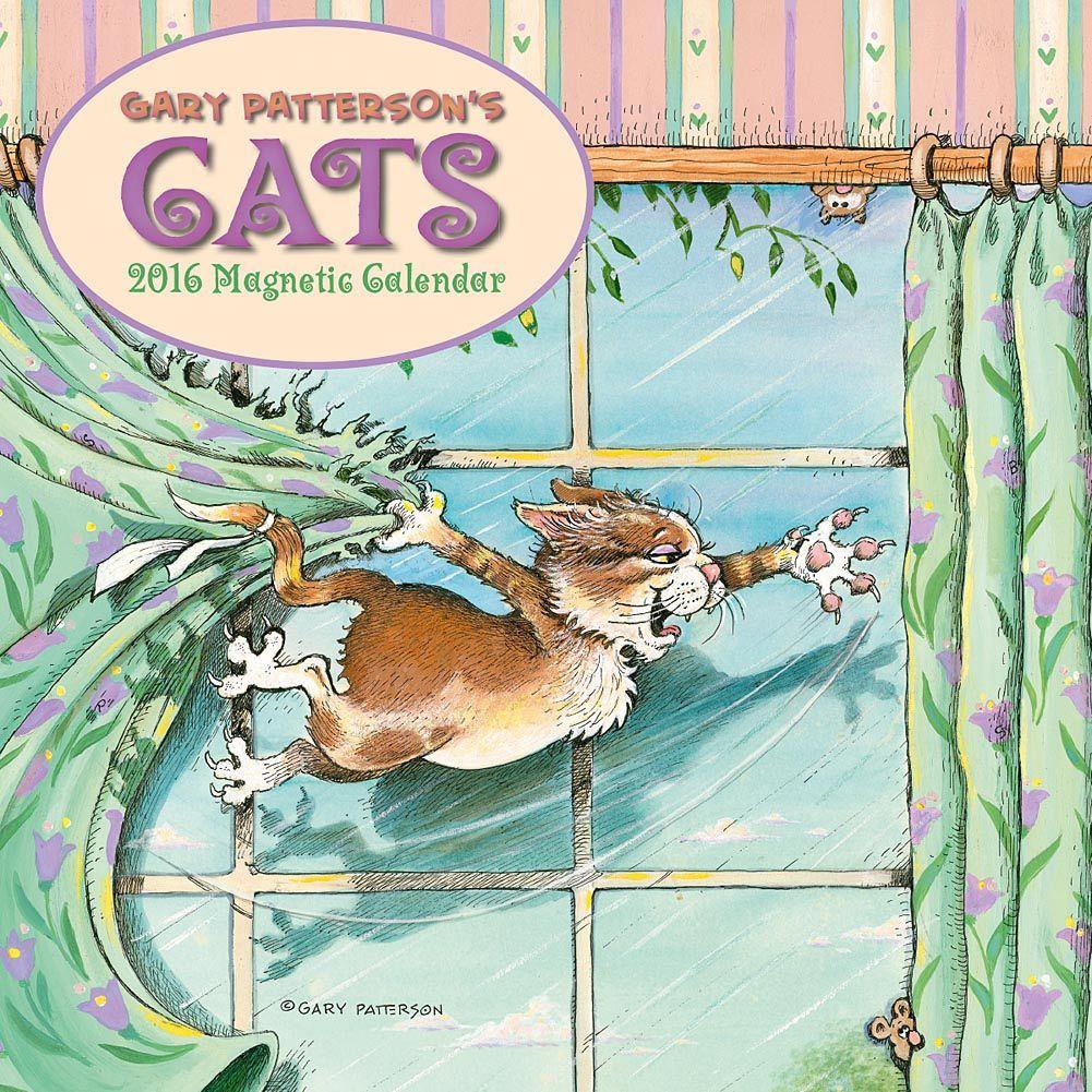 patterson cats 2018 magnetic wall calendar cat calendar and cat