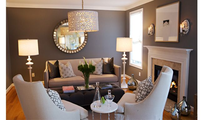 Best Copy Cat Chic Room Redo Transitional Living Rooms Small 400 x 300