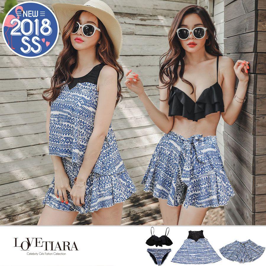 3748bb9e9c43f5 ファッション通販SHOPLIST(ショップリスト)| 【4点セット水着】2018夏 ...