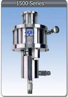 CheckPoint Series 1500 pneumatic pump.