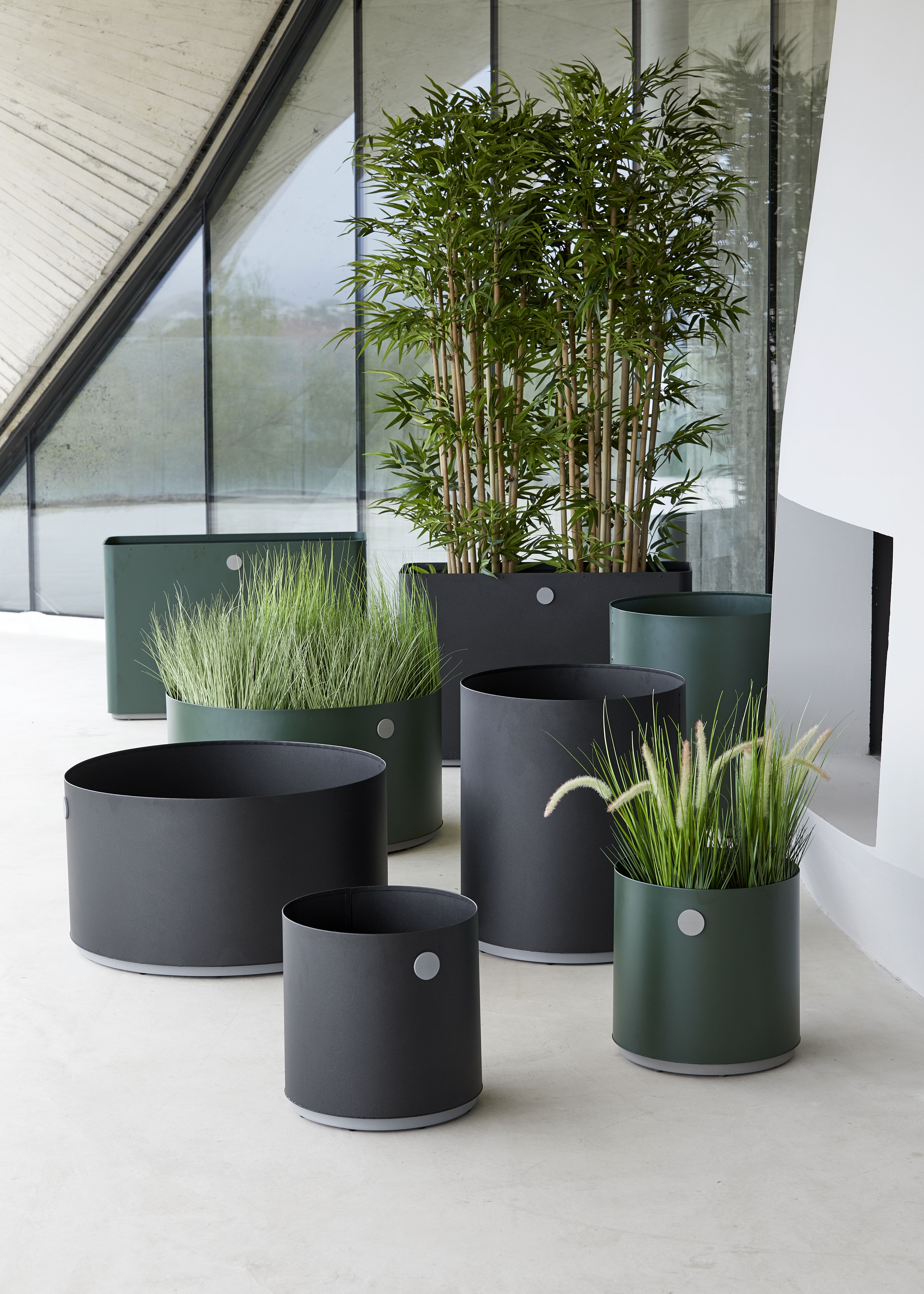 Give your outdoor space a modern update with the Grow planter boxes
