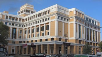 Nizami Cinema Center 1930 1934 Nizami Cinema Was Built In The Classical Style The Architects Of The Building Were S Dadashov And Mikhail Huseynov It Is