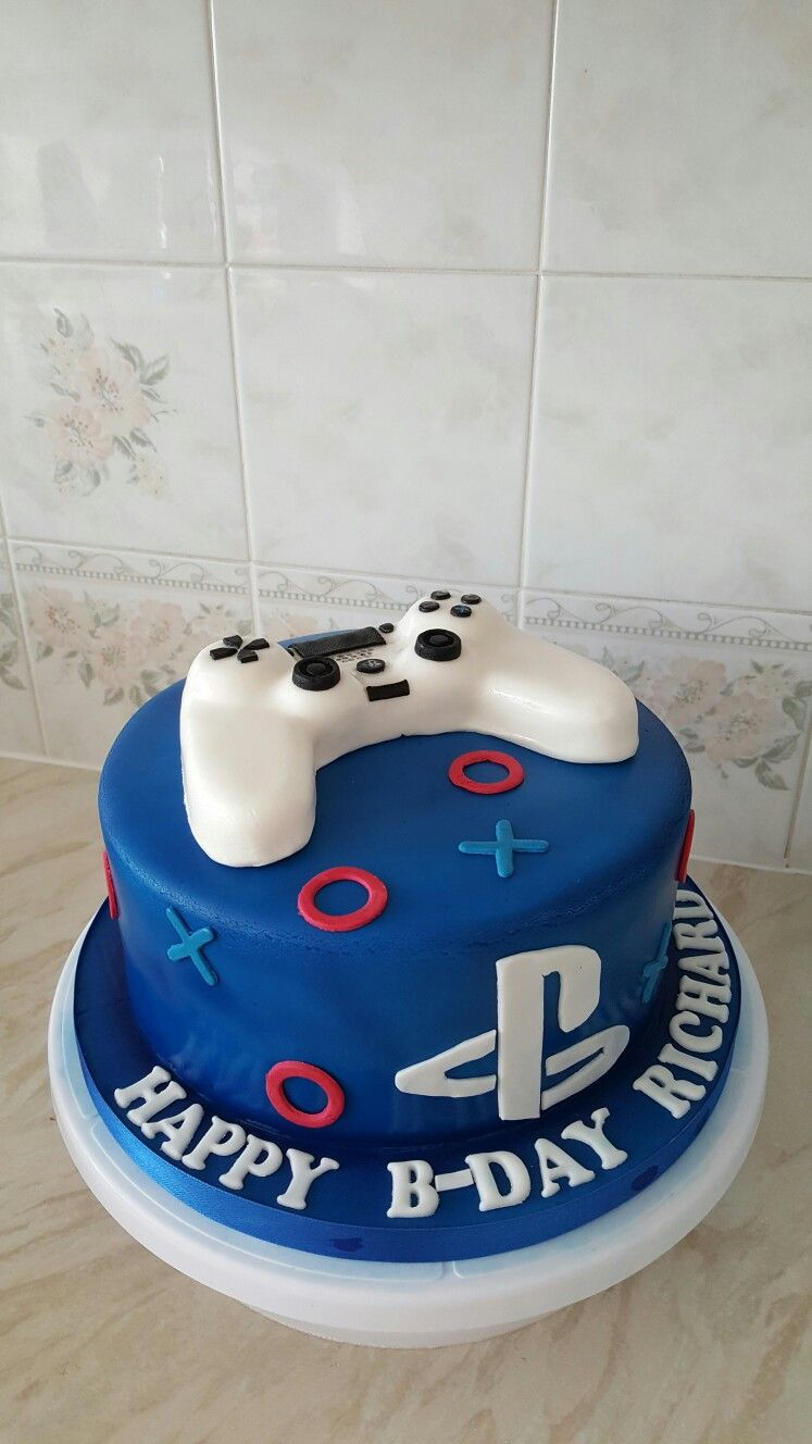 Playstation Cake Birthday Cakes For Teens 4th 10th Kim Tv
