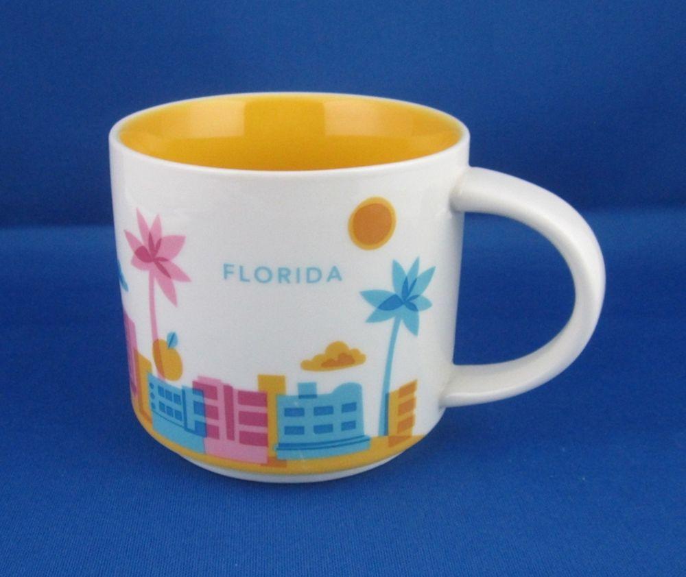 Oz Here Are You Mug Coffee Florida Starbucks 2012 Collection 14 xChQrdtsB