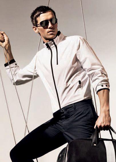 89ad463b3ed59 Zegna.com - soft-shell waterproof jacket. Zegna Sport 2012 Spring Summer  Collection: Designer Denim Jeans ...