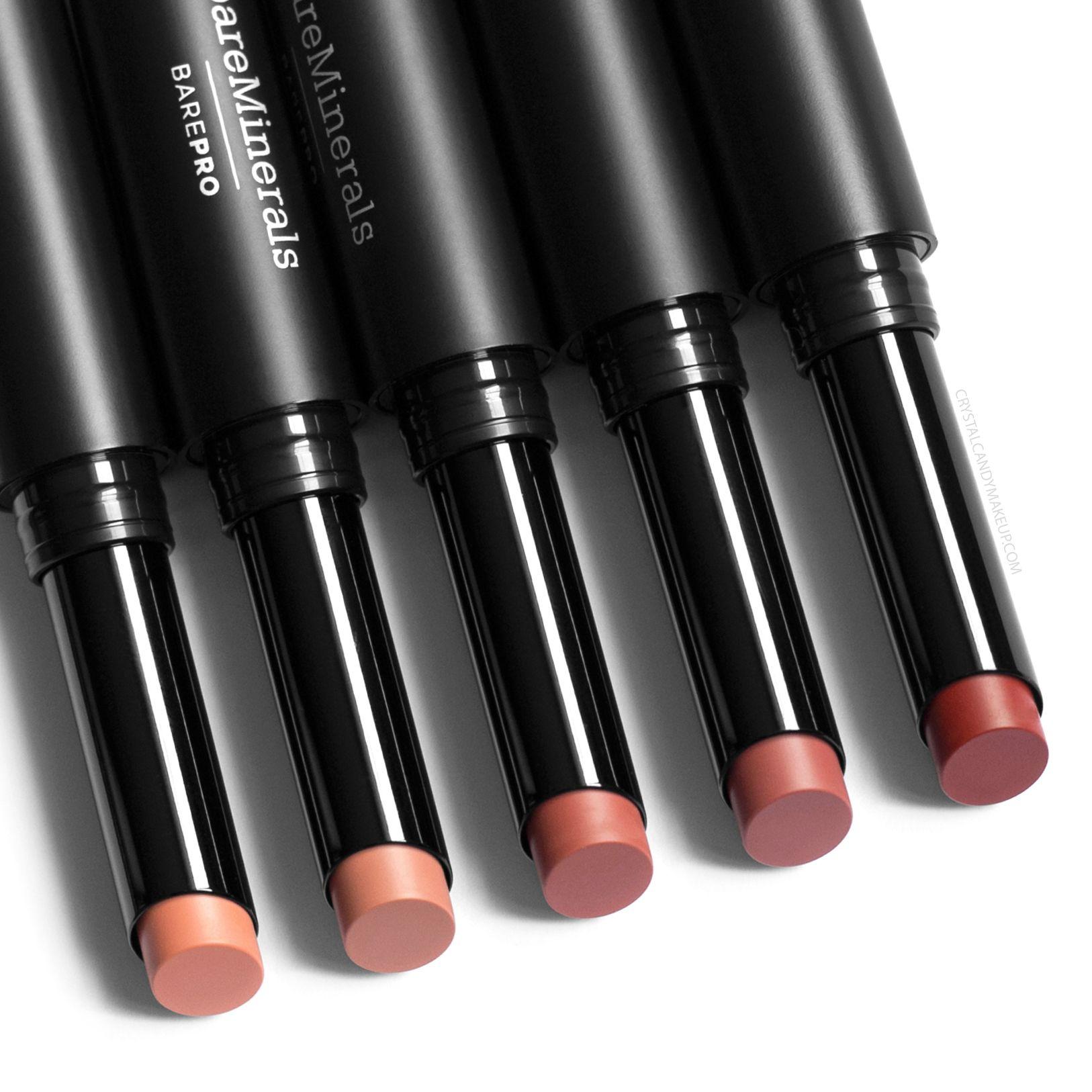 BareMinerals BarePro Longwear Lipsticks Review and