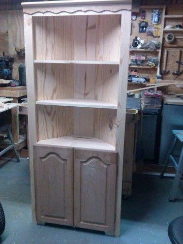 Inspirational White Corner Pantry Cabinet