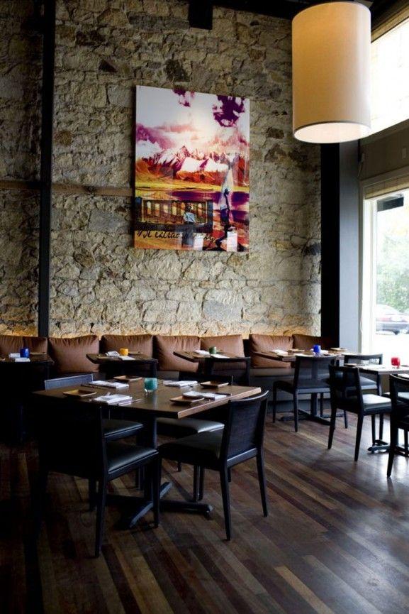 Vintage Neo Classical Natural Restaurant Modern Interior Design by