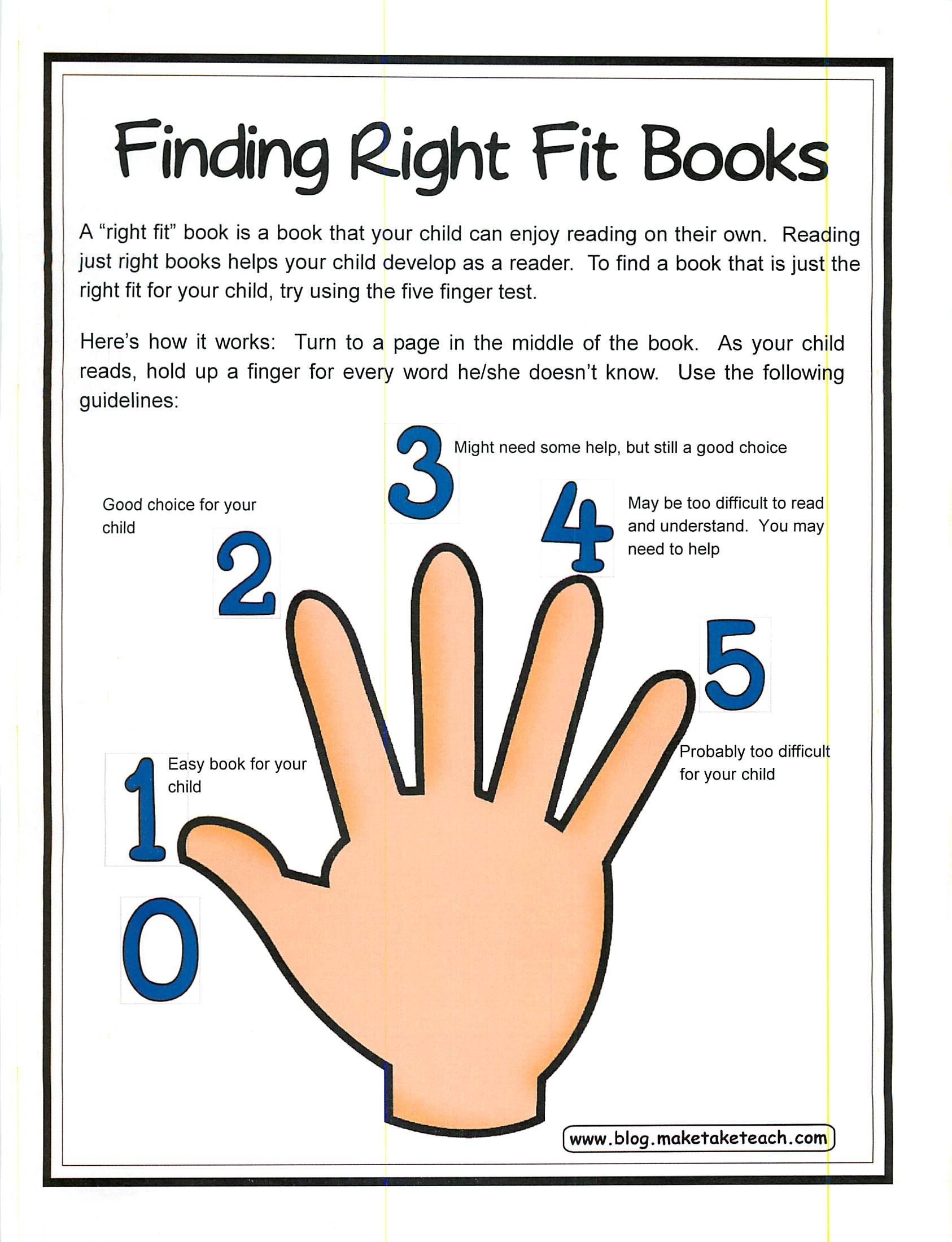 The Best Method For Finding The Right Fit Book For Your Child