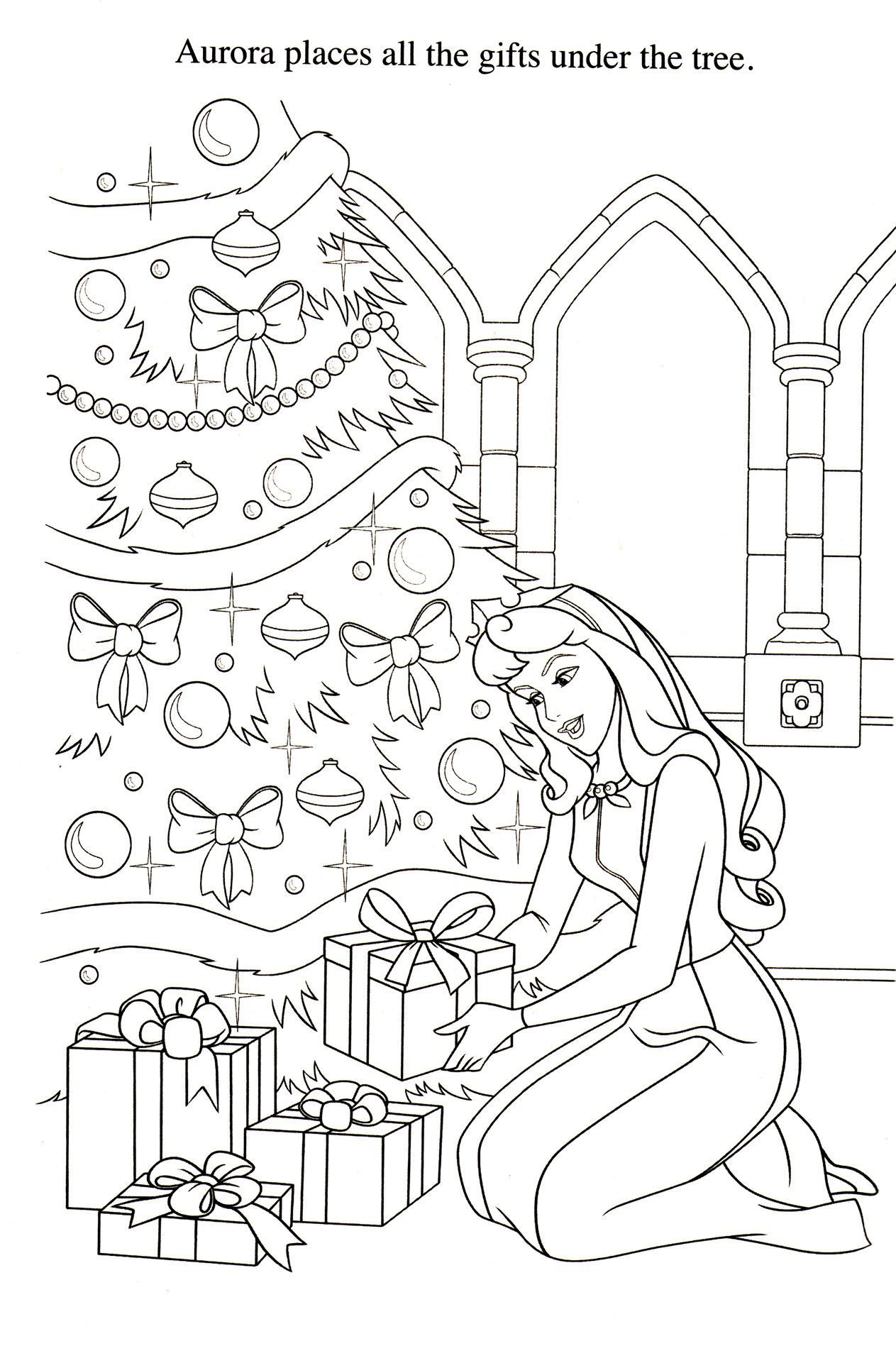 Disney Coloring Pages : Photo | Xmas disney & キャラ | Pinterest ...