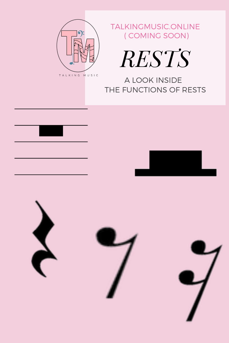 Function Of Rests In Music Notation Notations Music Theory Learn Music