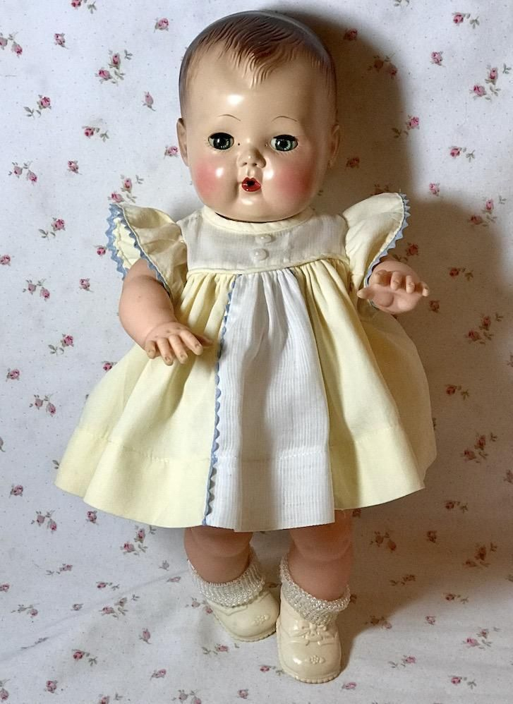 5fab44795ff4 Yellow Sun Dress for 13.5 Tiny Tears and Friends