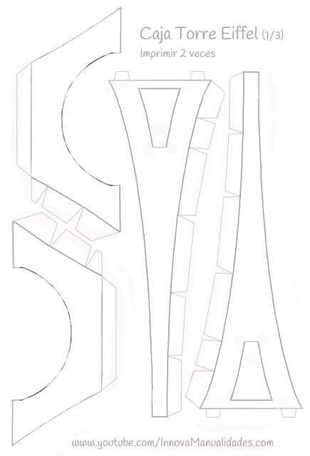 Meio Ligado: Caixinha - Torre Eiffel … … | agus | Pinte…