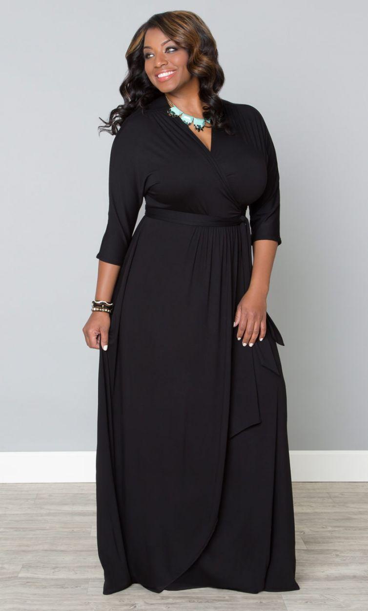 Wrapped In Romance Dress Sale Plus Size Maxi Dresses