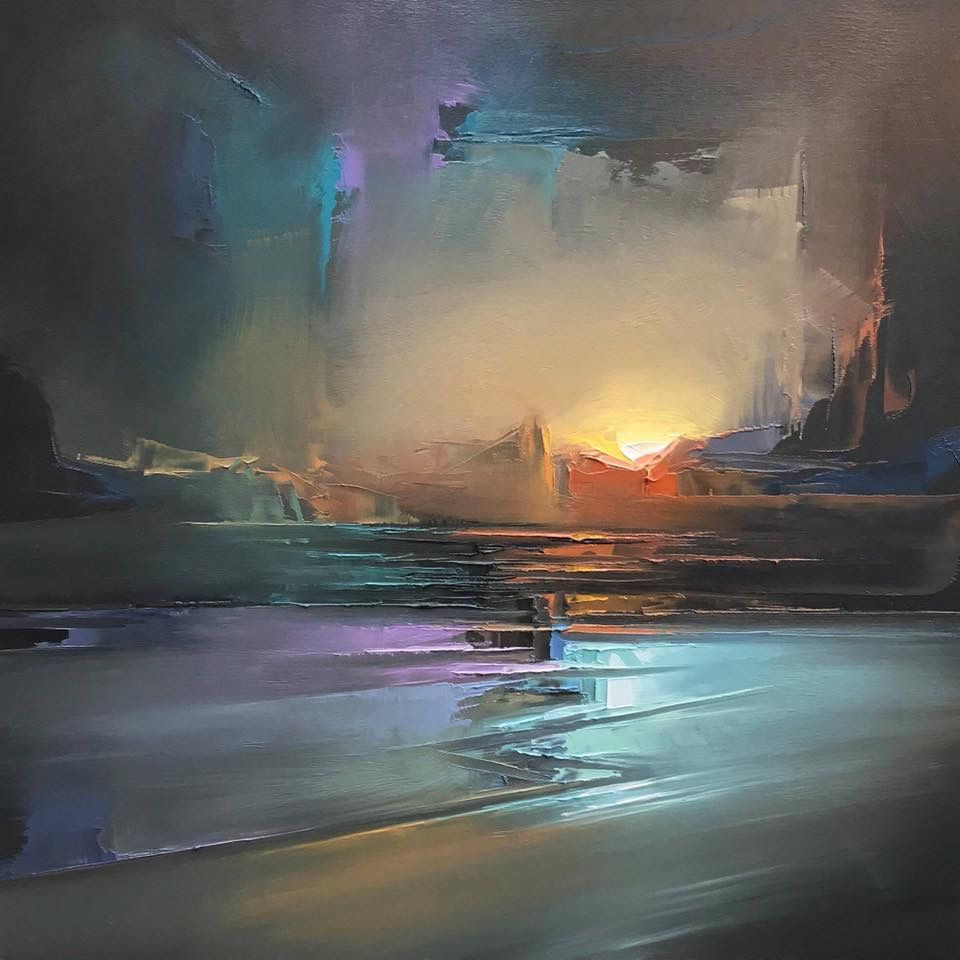 Jason Anderson Abstract Abstract Artists Abstract Landscape