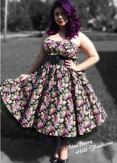 Plus size pin up dresses 4x cheap