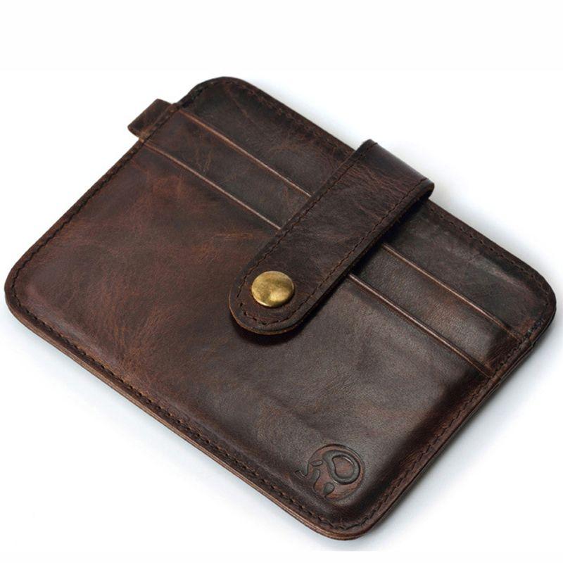 Men Wallet 2017 Brand 100% Genuine Leather Short Wallet Mini Wallet ...