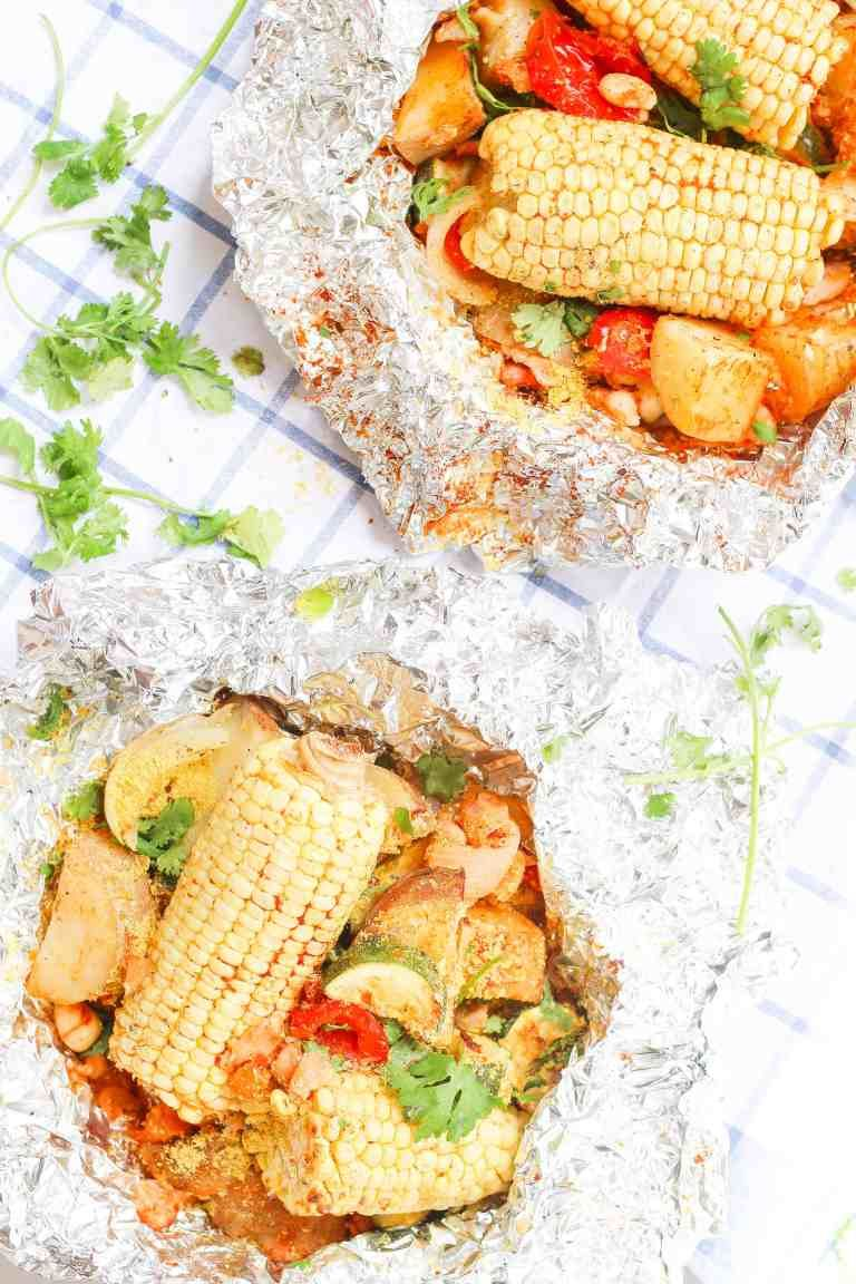 Photo of Foil Packs: Healthy Easy Summer Vegetable Camping Recipe