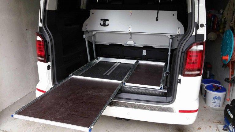heckauszug nachbau selbstbau anleitung schublade vw t5 134628 pickup pinterest. Black Bedroom Furniture Sets. Home Design Ideas