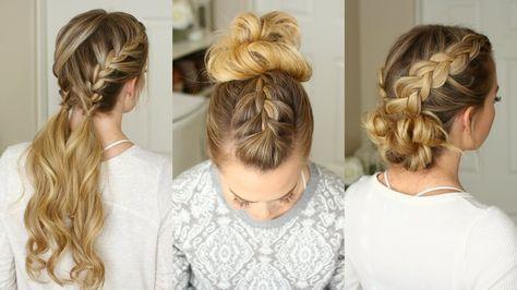 Easy Braid Hairstyles Fascinating Easy Gym #braid #hairstylesmissy Sue  One Of My Favorite Braid