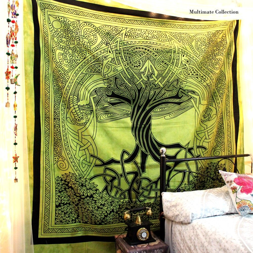 Celtic Large Tapestry   Tree tapestry, Tapestry and Large tapestries
