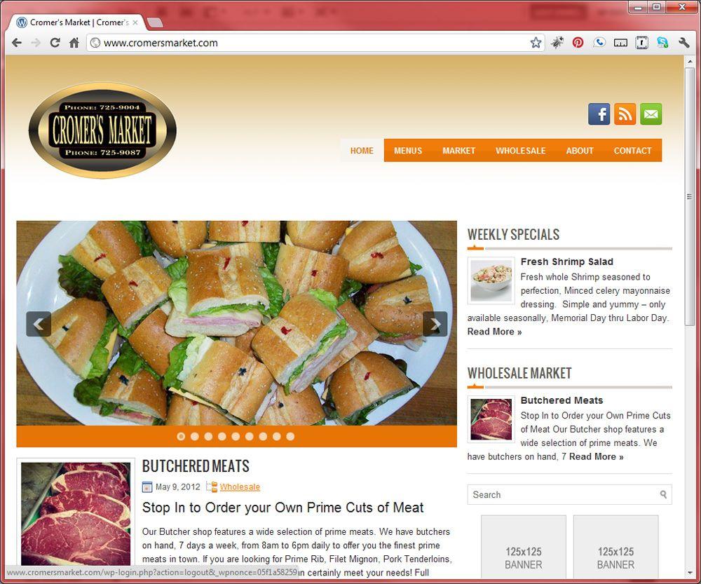 Cromer's Market website
