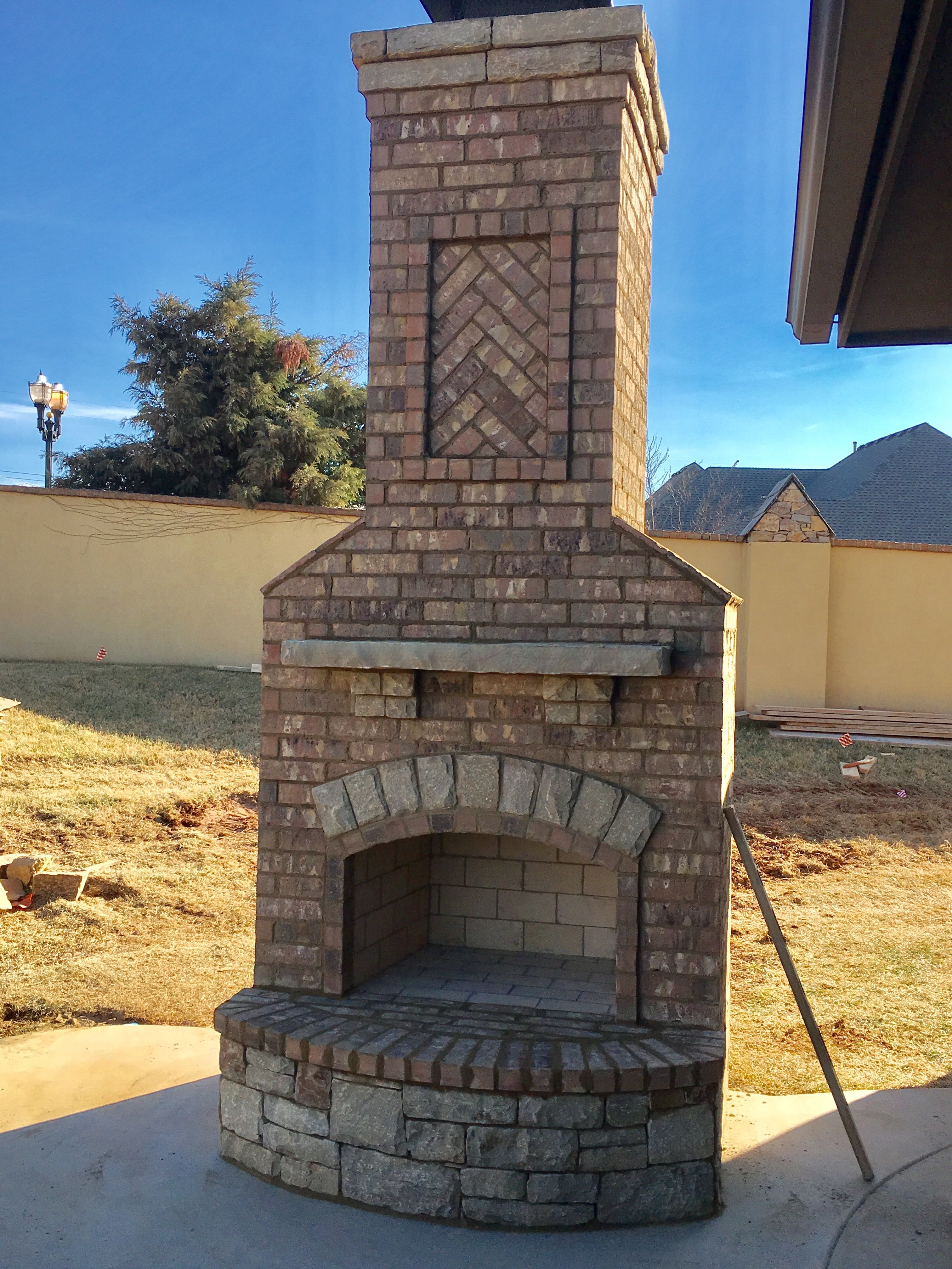 Pin By Pmhokc Com On Custom Outdoor Fireplaces Fireplace Custom