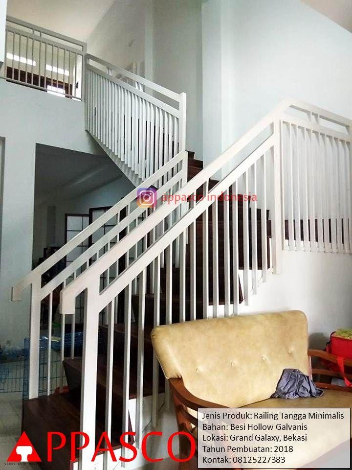 72 Best Railing Tangga Minimalis Images In 2020 Stairs Home