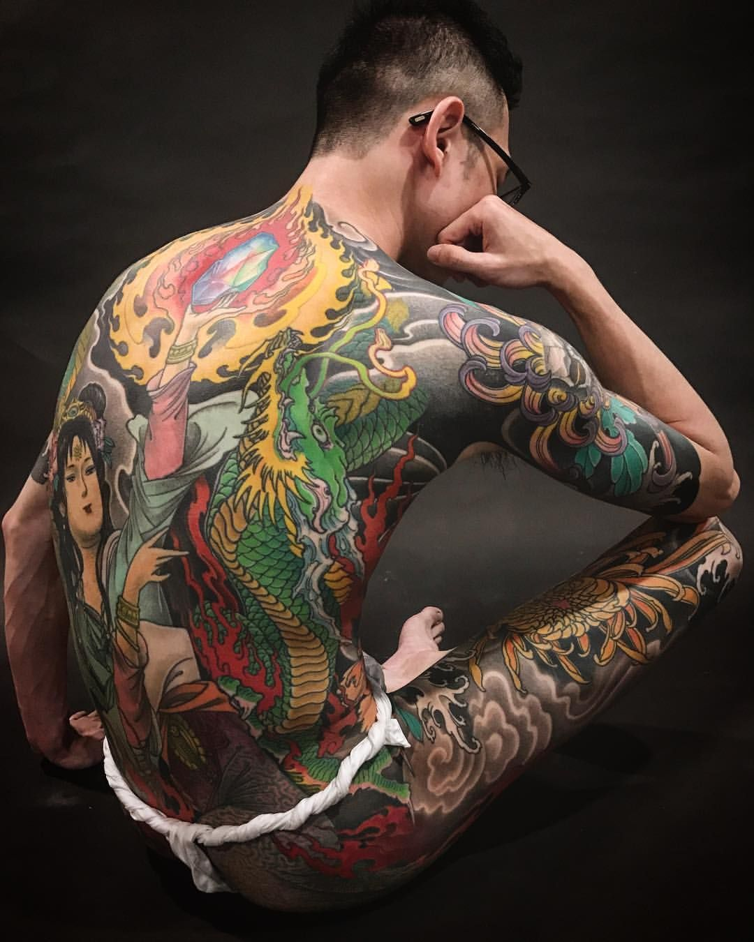 2017 tattoo by Diau botaiwantattoo diauboart