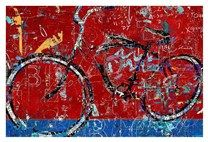 Red Graffiti Bike