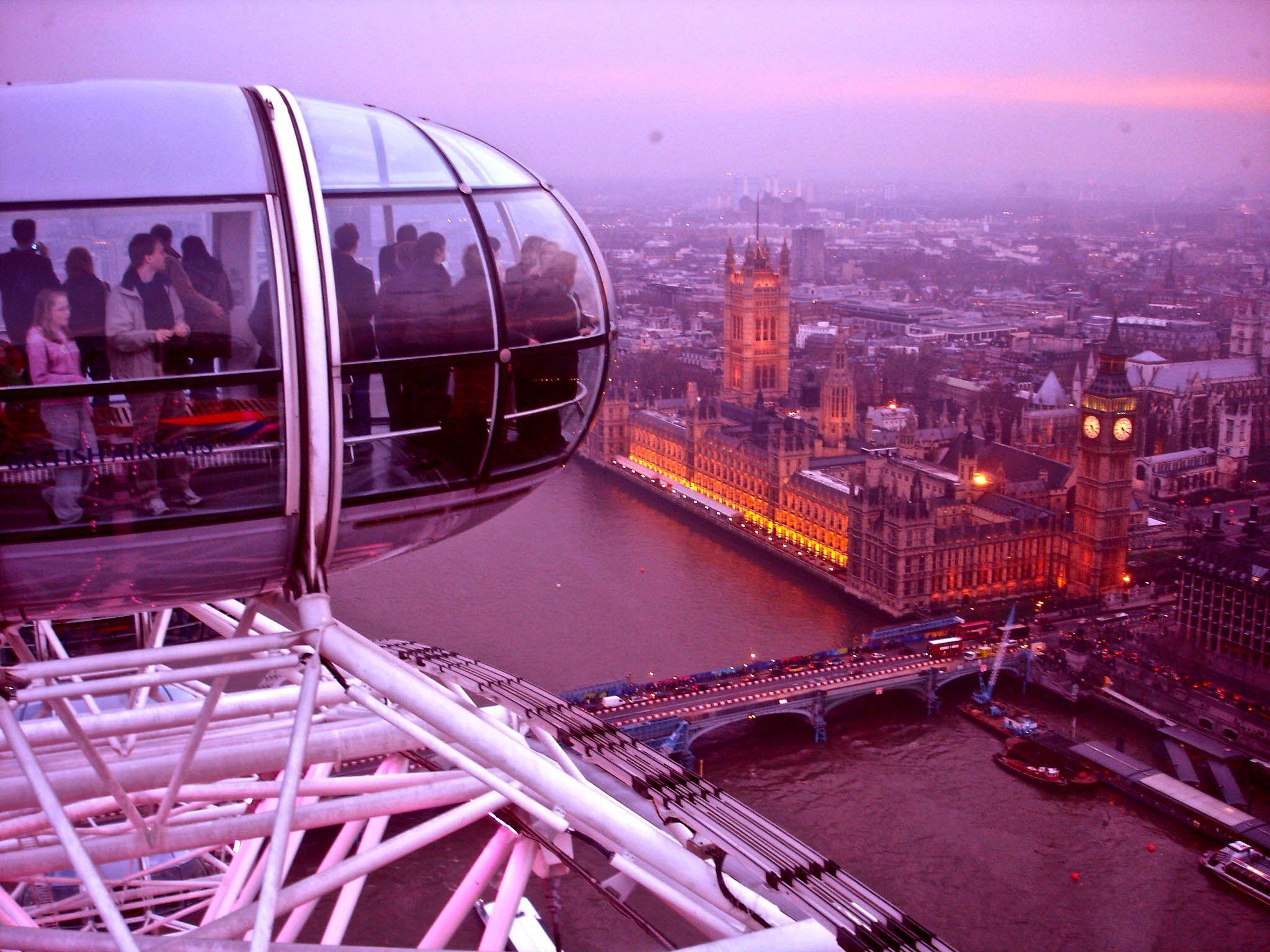 London eye by adelmo braga