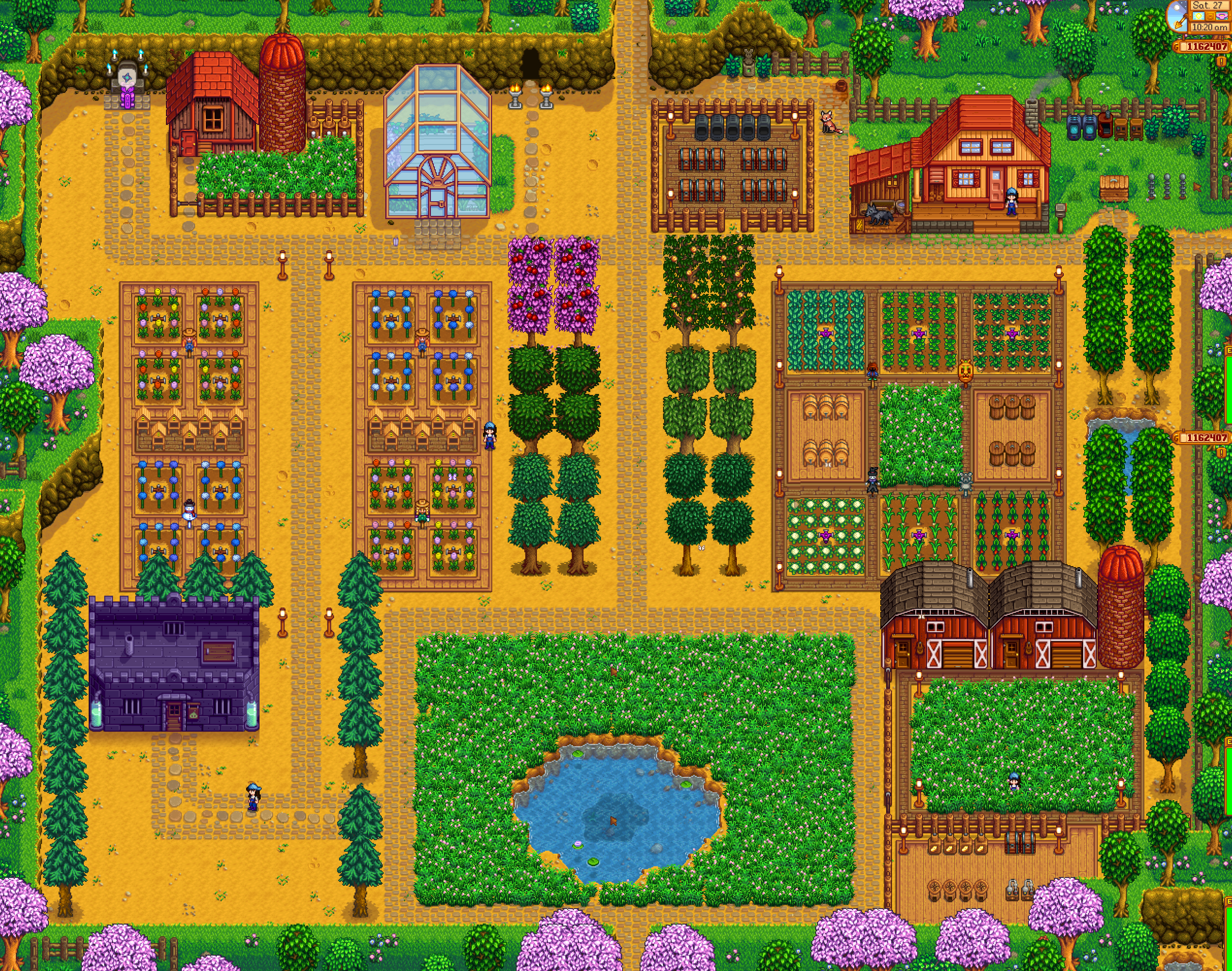 Stardew Valley Farming Guide Setup Layouts And Design Stardew Valley Stardew Valley Stardew Valley Farms Stardew Valley Layout