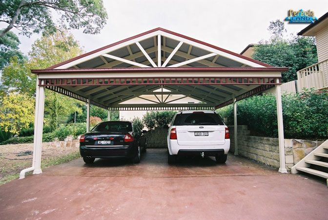 Well I Ve Been Thinking A Lot About My New Porsche Which I Don T Have Yet If You Haven T Read My Blog From Th Carport Designs Carport Plans Carport Makeover