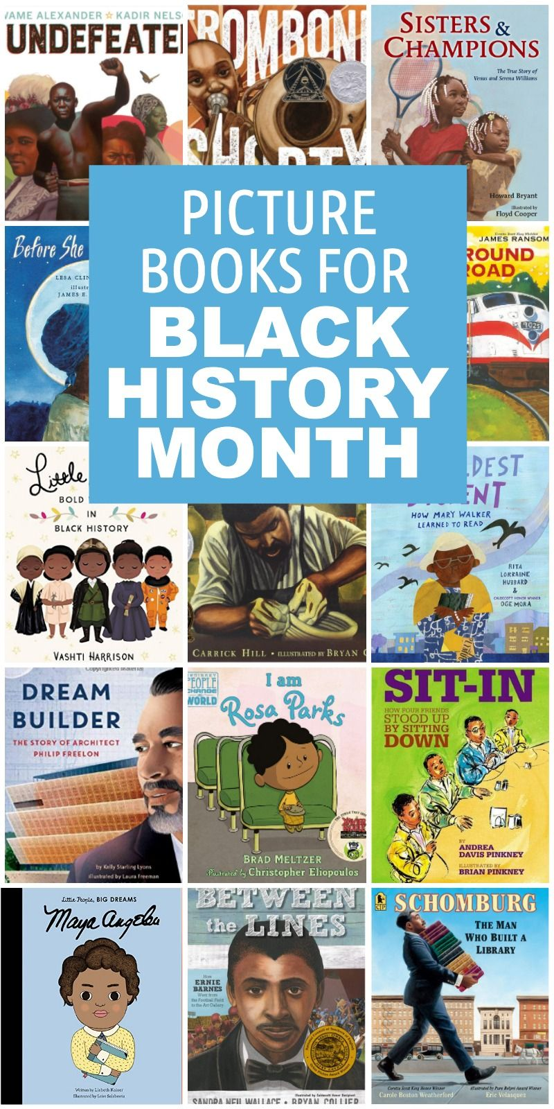 Photo of 25 Picture Books for Black History Month – Everyday Reading