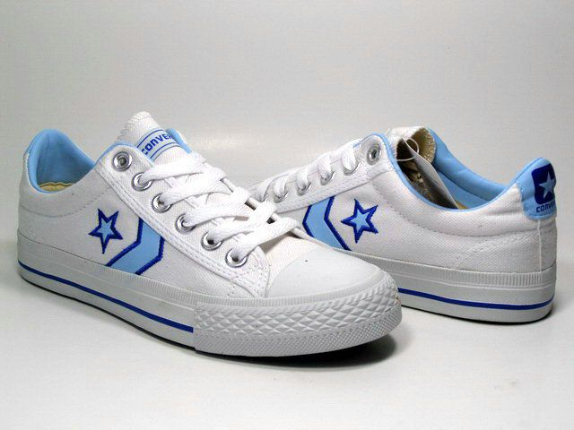 95494ff323 Converse Pro Star Fastbreak OX White Blue Sale Converse, Converse One Star,  Discount Converse