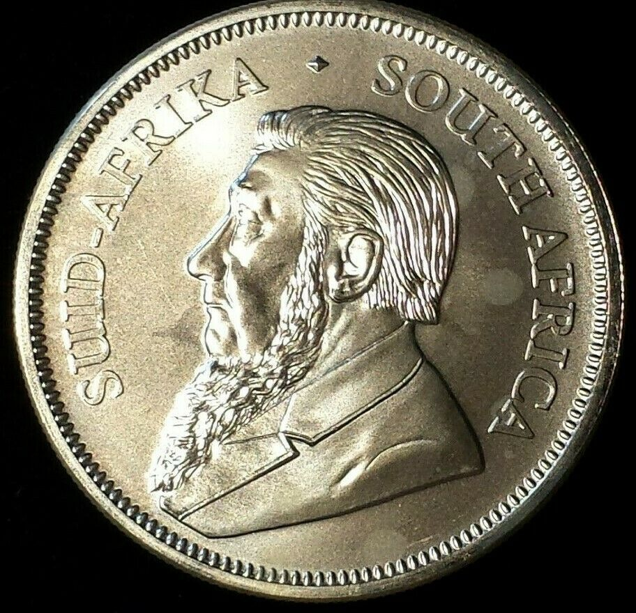 2018 South Africa 1 Oz Silver Krugerrand Coin 999 Round Spectacular Silver Krugerrand Gold Krugerrand Silver Coins