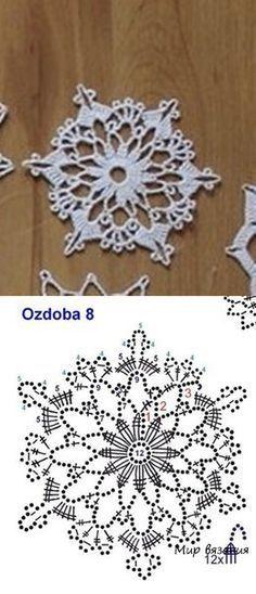 Crochet Snowflake Pinterest Crochet Snowflakes